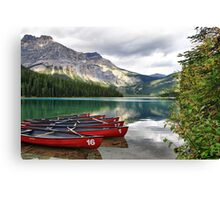 Emerald Lake, Yoho National Park Canvas Print