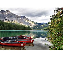 Emerald Lake, Yoho National Park Photographic Print
