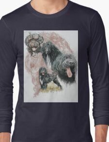 Portuguese Water Dog w/Ghost Long Sleeve T-Shirt