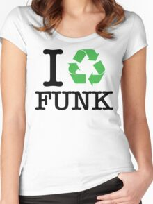 I Recycle Funk Women's Fitted Scoop T-Shirt
