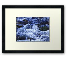 Angry Waters... Framed Print