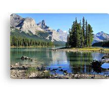 Spirit Island, Maligne Lake, Jasper NP Canvas Print