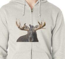 Moose & Squirrel Zipped Hoodie