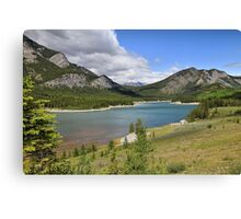Breathtaking Kananaskis River Canvas Print