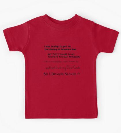 90's Anime Nerd Shirt Kids Tee