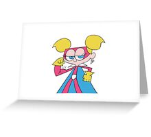 Super Diva Dynamite Flexing Greeting Card