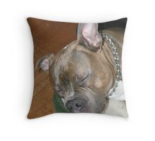 I can still hear you! Throw Pillow
