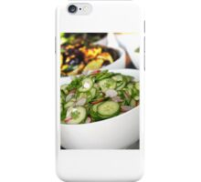 Healthy Cucumber Salad iPhone Case/Skin