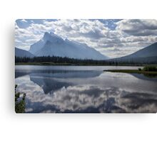 Mount Rundle & Vermillion Lake Canvas Print