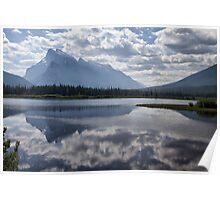 Mount Rundle & Vermillion Lake Poster