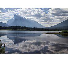 Mount Rundle & Vermillion Lake Photographic Print
