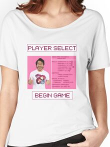 Markiplier Player Select Screen Women's Relaxed Fit T-Shirt