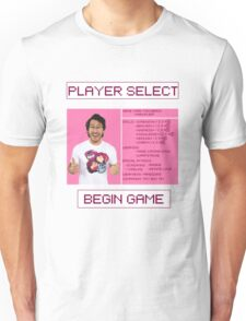 Markiplier Player Select Screen Unisex T-Shirt