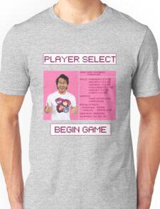 Markiplier Player Select Screen Unisex T-Shirt