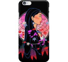 Colors of the Wind - POWHATAN iPhone Case/Skin