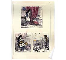The Little Folks Painting book by George Weatherly and Kate Greenaway 0175 Poster