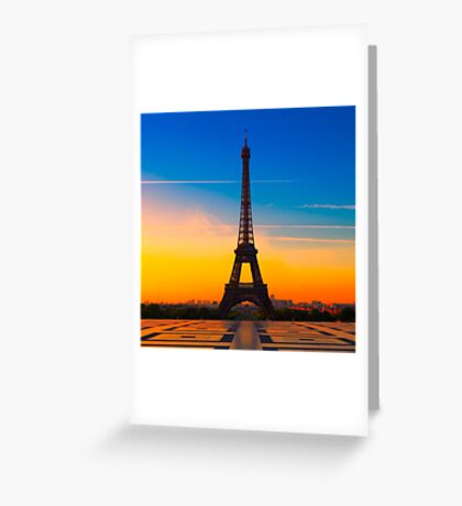 PARIS 24 Greeting Card