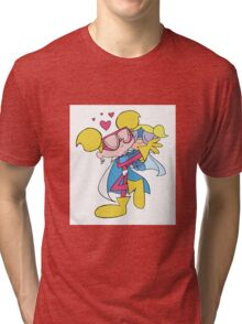 Diva Dynamite and Super Bubbles Tri-blend T-Shirt