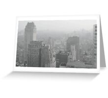 my beloved Manhattan Greeting Card
