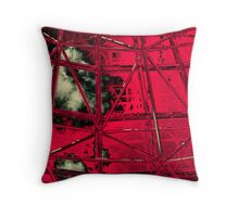 Storm Shelter Throw Pillow