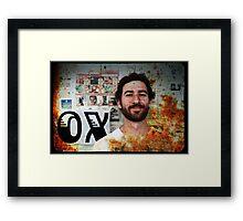 Chris Kelly Framed Print