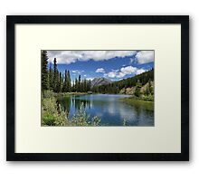 Mount Lorette Ponds 2 Framed Print