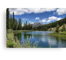 Mount Lorette Ponds 2 Canvas Print