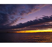 Violet Sky Photographic Print