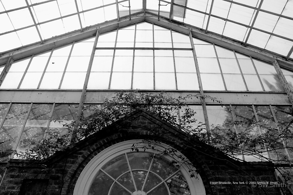 Greenhouse Roof Detail | Upper Brookville, New York  by © Sophie W. Smith