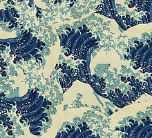 THE GREAT WAVE OFF - Kanagawa  by STEAK
