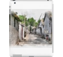 Hutongs, Beijing, China iPad Case/Skin