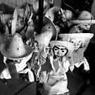 Marionettes by Elena Vazquez