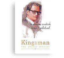 Kingsman - The Secret Service Canvas Print