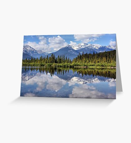 Vermillion Lakes (2) Greeting Card