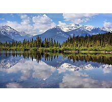 Vermillion Lakes (2) Photographic Print