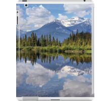 Vermillion Lakes (2) iPad Case/Skin