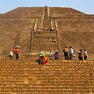 Pyramid of the Sun by Elena Vazquez