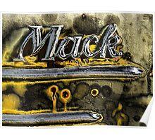 Macks Truck Poster