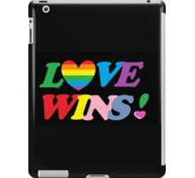 Love Wins! iPad Case/Skin