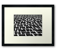 Close Knit Framed Print