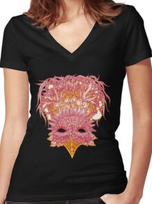 Firebird Line Design Women's Fitted V-Neck T-Shirt