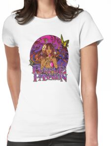 Purple Passion Womens Fitted T-Shirt
