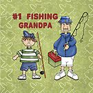 Number #1 Fishing Grandpa by SpiceTree