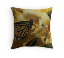 """""""Its A Sprng Thing On Canvas"""" Throw Pillow"""