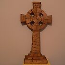 &quot;Matchstick Art&quot; Celtic Cross,, by Pat Duggan