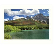 Wedge Pond -  Bow Valley Provincial Park Art Print