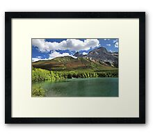 Wedge Pond -  Bow Valley Provincial Park Framed Print