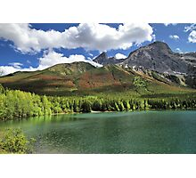 Wedge Pond -  Bow Valley Provincial Park Photographic Print