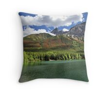 Wedge Pond -  Bow Valley Provincial Park Throw Pillow