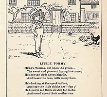 Miniature Under the Window Pictures & Rhymes for Children Kate Greenaway 1880 0037 Little Tommy by wetdryvac